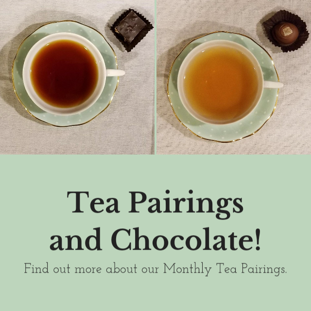 Tea Pairings with Chocolates